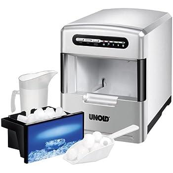 Unold 48946 Eiswürfelbereiter/140 Watt/3 verschiedene Eiswürfelgrößen