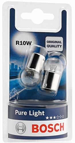 Bosch Lampes Pure Light R10W 12V 10W (Ampoule x2)