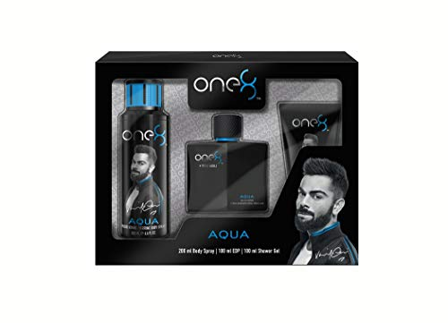 One 8 by Virat Kohli AQUA 3 Pc Fragrance Gift Set For Men
