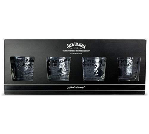 Jack Daniels on the Rocks Set Gläser, 4 Stück 4 Rocks Gläser
