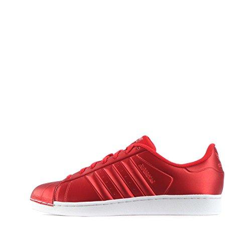 adidas Adidas Superstar, Sneaker uomo Red/Red/White