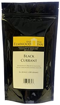 Elmwood Inn Fine Teas, Black Currant Black Tea, 16-Ounce Pouch