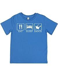 SR - Eat, Sleep, Break Dance Unisex Kid's T-Shirt 100% Organic Girls T-Shirt - Boys T-Shirt - Unisex T-Shirt - Boys Gift - Girls Gift - Kid's T Shirt