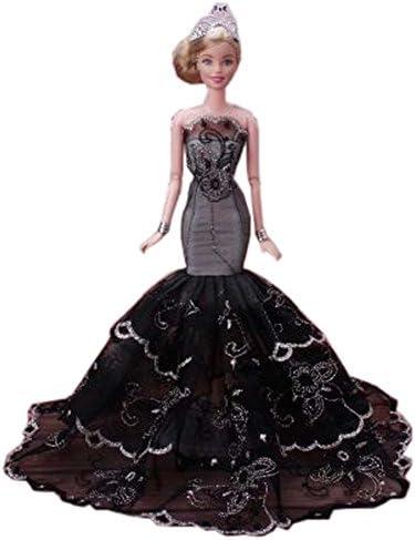 Black Temptation Belle soirée Princesse Mariage Costume Party Robe de soirée Belle poupées Dress-up Costume idée de Cadeau, A B06XK95ZTQ 721072
