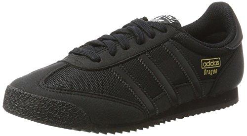 adidas Unisex-Kinder Dragon OG Sneaker, Schwarz (Core Black/Core Black/Core Black), 37 1/3 EU