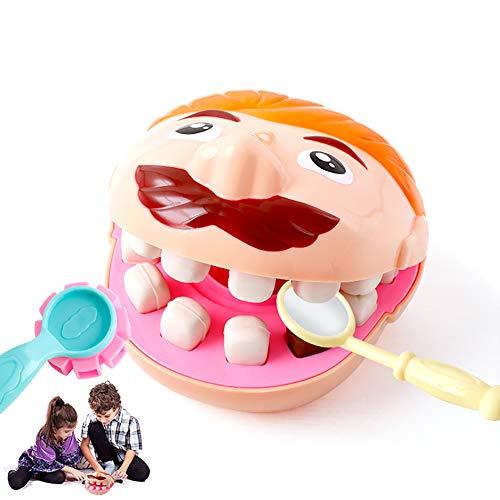 1set Wiedergabe Pretend Toxic Ton Zahnarzt Doktor Kit Medical Set Keine Bildungs ??Spielzeug Weihnachten & Geburtstags-Geschenk für Baby Kleinkinder