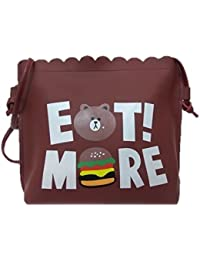 Rural Mart Stylish Fashion Handbag For Women's-Maroon (Assorted Prints)