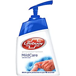 Lifebuoy Mild Care Hand Wash, 215 ml