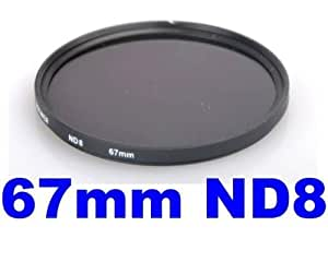 Neewer 67Mm Neutral Density Filter (Nd8) For Kodak, Canon, Nikon, Or Any Camera With A 67Mm Filter-Thread