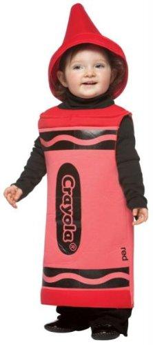 Crayola Infnt Red 18-24 Months (Red Crayola Kostüm)