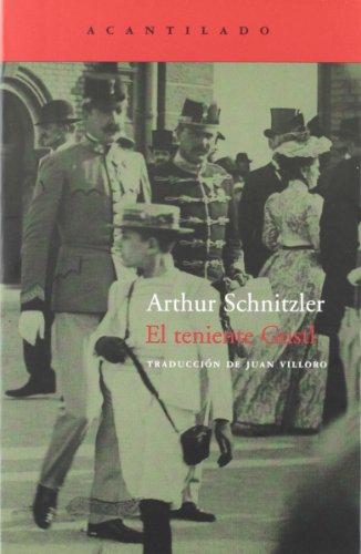 El Teniente Gustl (Cuadernos Del Acantilado / Cliff Notebooks) por Arthur Schnitzler