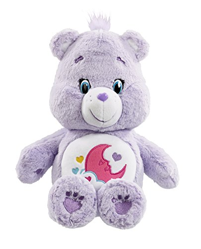 """Image of Vivid Imaginations """"Care Bears Sweet Dreams Bear"""" Plush Toy with DVD (Multi-Colour)"""