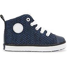 Geox Baby Boys' B Kilwi Sneaker, Navy Blue, 7 UK Child