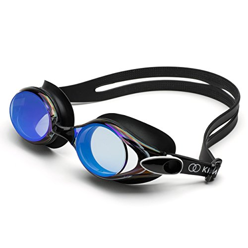 Kimedo© Profi Schwimmbrille | Taucherbrille Tauchermaske Goggles Schwimmzubehör Chlorbrille Unterwasserbrille Aqua Brillen Wasser Brille Swimming Glasses Wassersport Brille Diving Mask