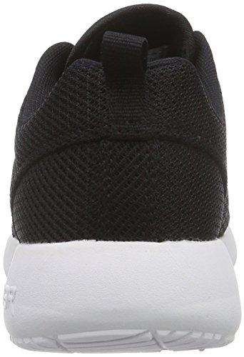 L.A. Gear Sunrise Damen Sneakers Schwarz (Black-Stars and Stripes 02)