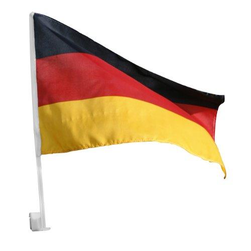Autoflagge 45x30cm Deutschland