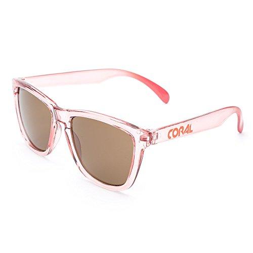 f6e03f3372442 CORAL Sunglasses - Lunettes de soleil - Homme Rose rose