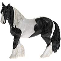 Hunky Dory Gifts Black And White Gypsy Cob Ornament Pony Piebald Horse Lover Figurine Gift