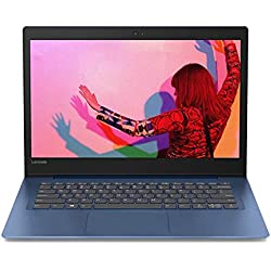 """Lenovo Ideapad S130 Notebook, Display 14"""" HD, Processore Intel N5000, 128 GB SSD, RAM 4 GB, Windows 10, Midnight Blue"""