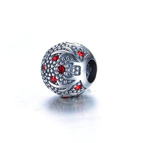 925 Sterling Silber Elch Charm Bead für Pandora Armbänder