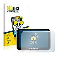 2x BROTECT Screen Protector for Blaupunkt TravelPilot 51 - Matte, Anti-Glare Protection Film