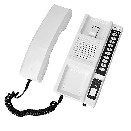 Wechselsprechanlage Türsprechanlage, Wireless Office Nicht visuelle Gegensprechanlage Intercom-System, sichere Interphone-Kopfhörer, erweiterbar für Lagerbüro