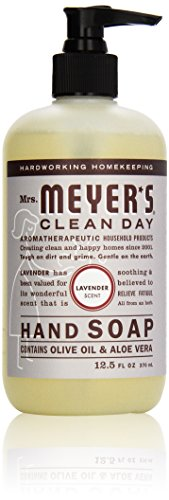 Mrs. Meyer's Clean Day Liquid Hand Soap, Lavender, 370 ml Bottle