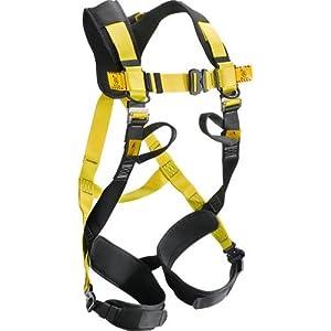 Arnés Anticaída con punto de casquillo dorsal y sternale compresa de bolsa para el transporte