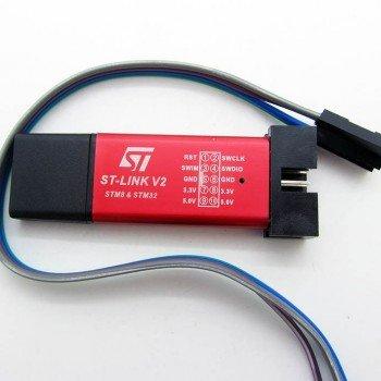 Solnoi Electronics ST-Link V2 Automatic Upgrade Perfect Support for STM8 STM32 Downloader/Programmer/Simulator
