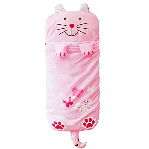 gigoteuses-et-nids-dange-bebe-sac-de-couchage-cotton-animal-enfant-petit-oreiller-integre-chat-rose