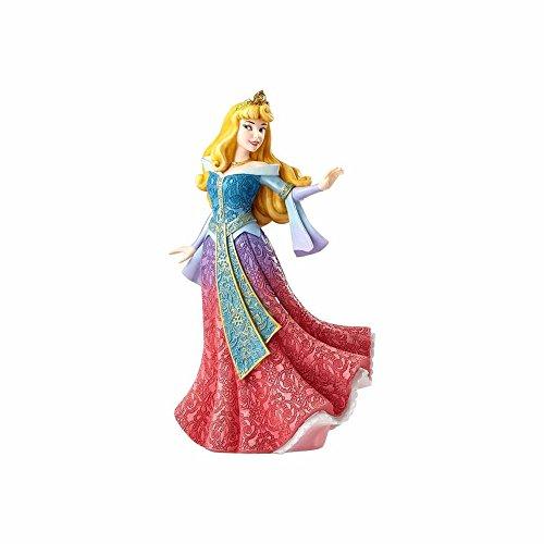 Disney Showcase Aurora Figurine, Resin, Multicolour, 13 x 10.5 x 21 cm