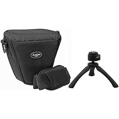 Set di borsa per fotocamera ACTION Colt fotografico con Flexi treppiede Rollei 100per Sony Alpha