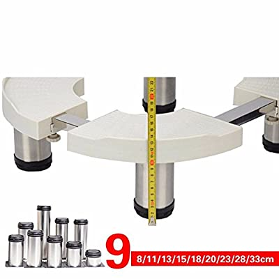 shelf Appliance Trolley\Cylindrical Oval Air Conditioning Base \ Bracket \ Stainless Steel Vertical Cabinet Heightening Bracket \Household from XZ