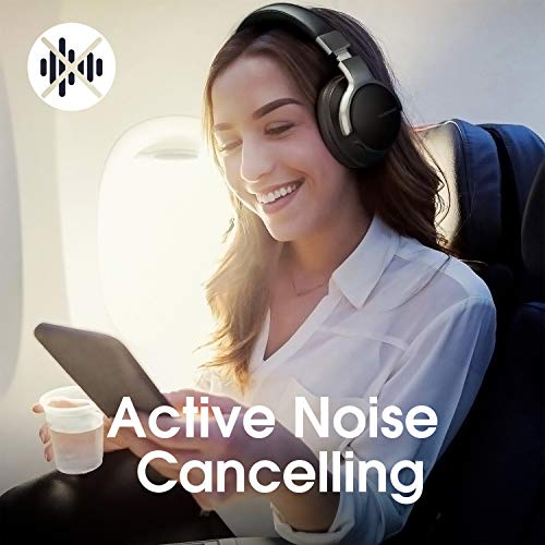AUSDOM ANC8 Active Noise Cancelling Kopfhörer, Bluetooth Kopfhörer, Noise Cancelling Kopfhoerer mit Super HiFi, Faltbare, Komfortabler Ohrpolster, Integiertes Mikrofon, 20 Stunden Spielzeit - 3