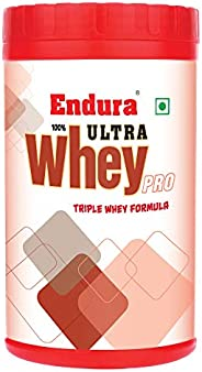 Endura Ultra Whey Pro enriched with BCAA & Glutamine | Whey Protein | Protein Supplement | 60g Protein per