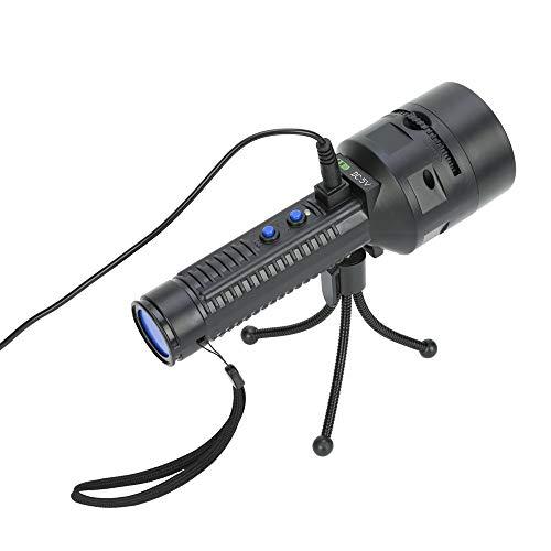 Dicomi 4x3W LED Licht im Freien Flashlight Projektor Landschaft Taschenlampe 3 Rouletteräder 12 Muster für Weihnachten,Halloween, Party,Indoor
