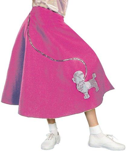 Forum Novelties Inc. 50er Jahre Pudel Rock Erwachsene Halloween-Kostüm