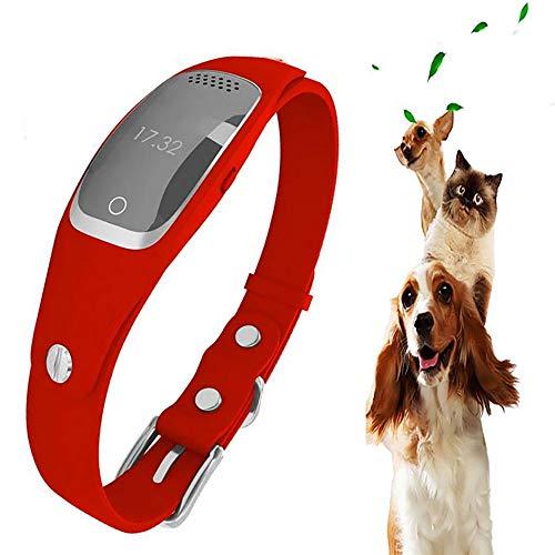 Fxqin inseguitore gps per animali domestici impermeabile, collare per cani, localizzatore per animali domestici, recinzione di sicurezza per cani da compagnia ricaricabile