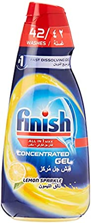 Finish Dishwasher Detergent Concentrated Gel Lemon, 1L