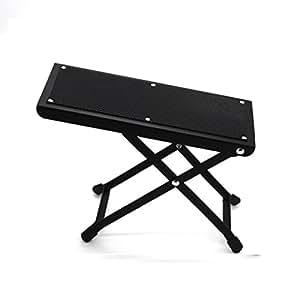 wishing guitare repose pieds tabouret de guitare 4 positions pliant pour guitaristes classiques. Black Bedroom Furniture Sets. Home Design Ideas
