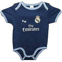 Real Madrid FC Body Niños - Producto Oficial Segunda Equipación 2018 2019 -  Personalizable - 38d8b358753d9