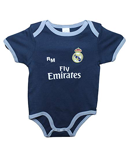 Real Madrid FC Baby Jungen 0-24 Monate Set Wei/ß