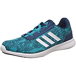 Adidas Women's Adi Pacer Elite 2. 0 W Eneblu/Blunit/White Running Shoes - 8 UK/India (42 EU)