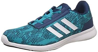 Adidas Women's Adi Pacer Elite 2. 0 W Eneblu/Blunit/White Running Shoes - 4 UK/India (37 EU)