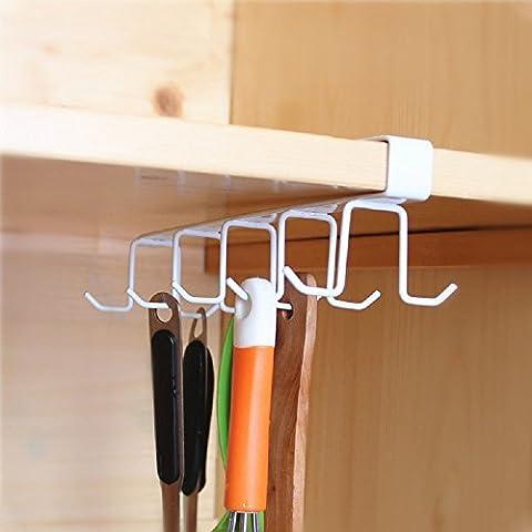 Créatif Rack de stockage de cuisine Coupe du vin Tasse à café Porte-outils de cuisine