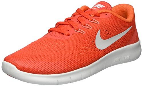 Nike Free Rn, Chaussures de Running Compétition Mixte Enfant Orange (Max Orange/orchid/off White/pure Platinum)