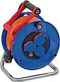 Brennenstuhl Garant IP44 Kabeltrommel (25m Kabel in orange, Spezialkunststoff, Einsatz im Außenbereich, Made in...
