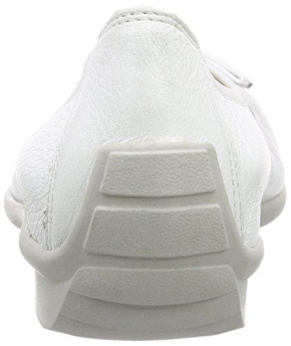Caprice 22157, Ballerines fermées femme Blanc - Blanc (100)