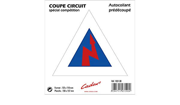 Cadox Adhesif Coupe Circuit