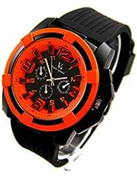 V6 Montre Homme MONTRE977 - Reloj , correa de silicona color negro